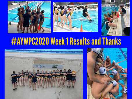 AYWPC 2020 WEEK 1 RESULTS