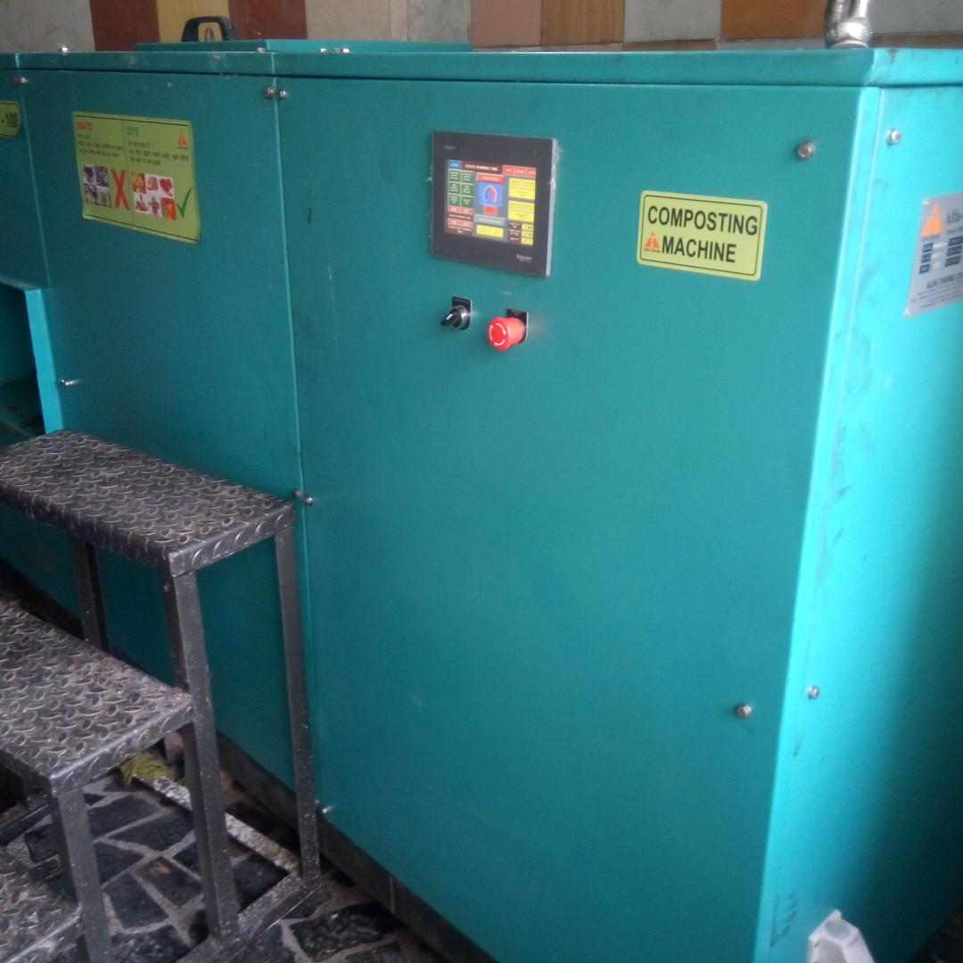 Compost24 100 Automated Machine at Hotel Madhuban, Dehradun