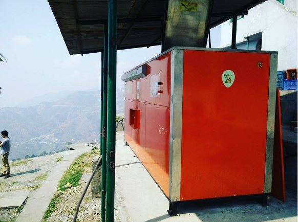 Compost24 200 Automated Machine at Wynberg Allen School, Mussoorie
