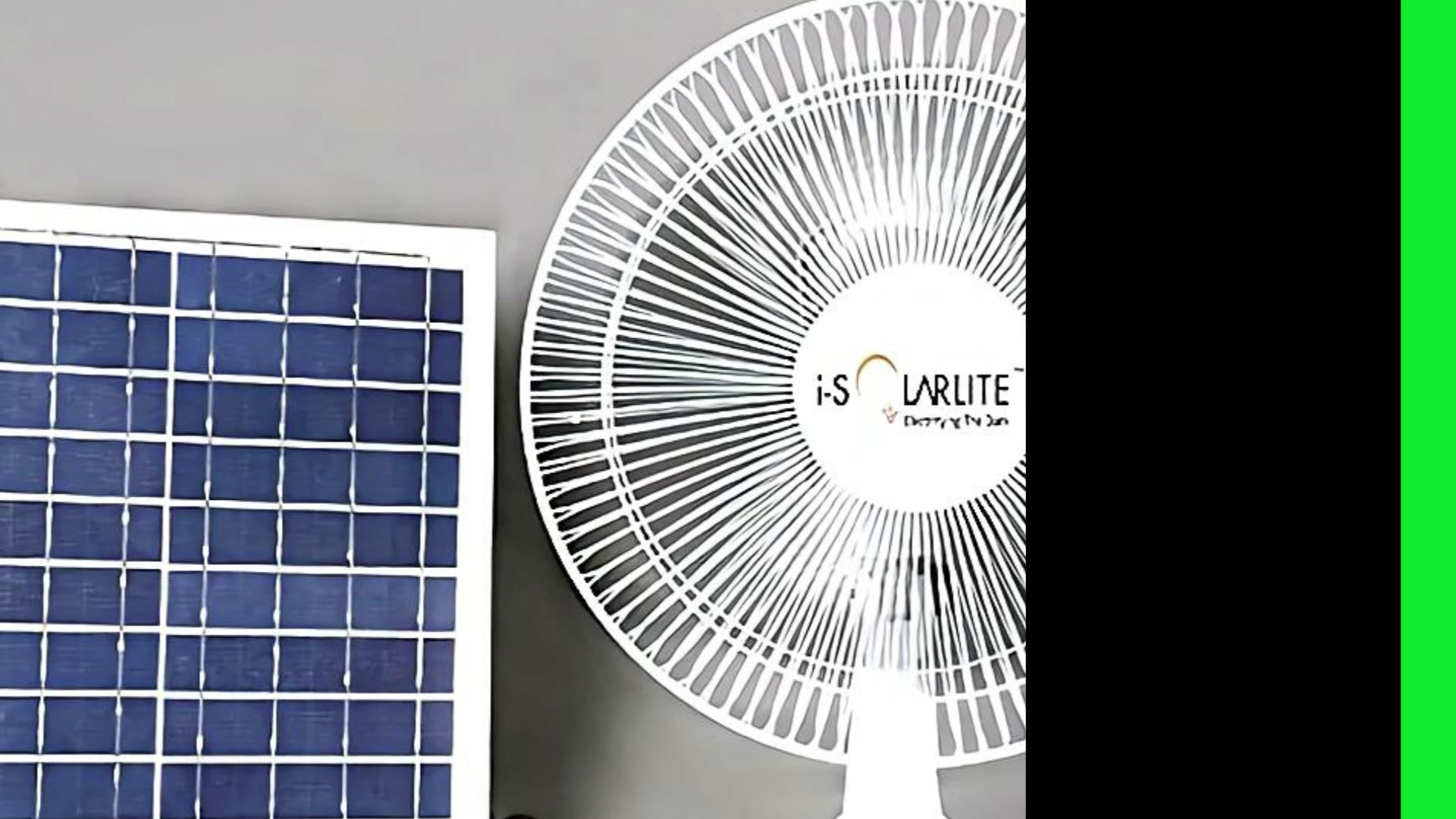 i-Solarlite Bena Solar Table Fan with Battery Backup