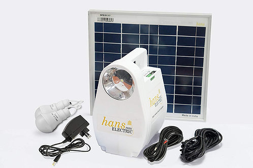 Hans Free Electric Portable Solar Home Electric System