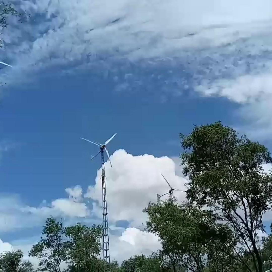 15 KW Wind Energy Power Plant