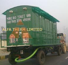8-Seater Mobile Bio-Toilet