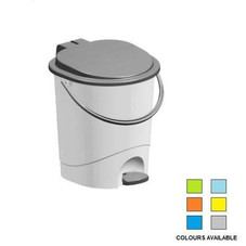 Plastic 13L Pedal Bin with Handle