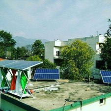 SolarMills Hybrid Power Plant at Haldwani