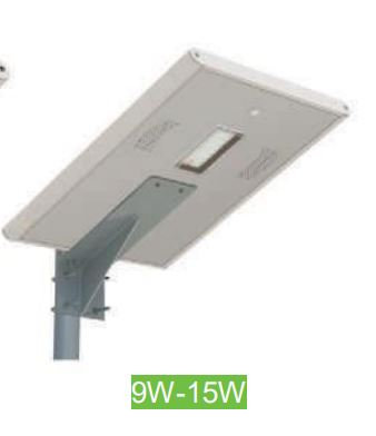 All in One Solar Street Light with-LiFePO4-Battery