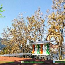 SolarMills Hybrid Power Plant at G.B. Pant High Altitude Zoo, Nainital