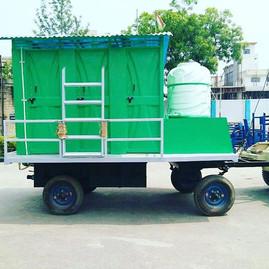 6 Cabin Mobile Bio-Toilet Van, Muni Ki Reti