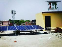 8KW Offgrid SolarMill at Kashipur Rain Basera