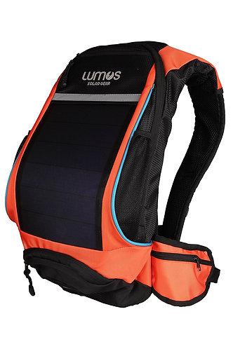 Lumos ThrillSeeker Solar Backpack for cyclists