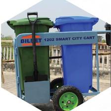 BVAC 120 Vacuum Litter Collector with Smart City Cart