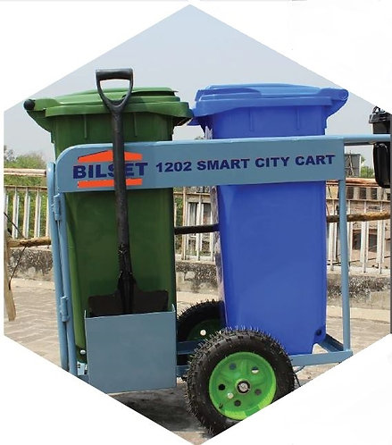 BVAC 120 Vacuum Litter Collector with Smart City Cart