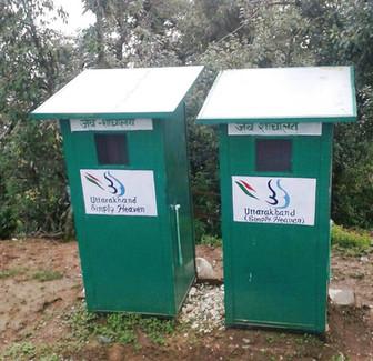 3 Cabin Bio-Toilets, ADB Project at Kartik Swami Temple, Rudraprayag