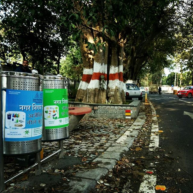 Day 6 working for #Dehradun Municipal Corporation installing #bins on #Rajpur Road #today!_