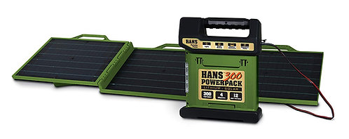 HANS Portable Solar Briefcase 60W (Olive Green)