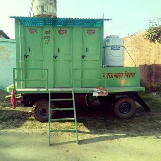 Two 6 Cabin Mobile Bio-Toilet Vans, Nagar Palika Bhagwanpur