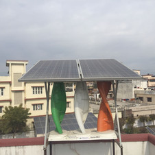 SolarMills Hybrid at UREDA office, Dehradun