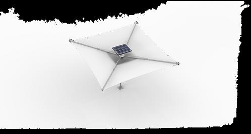 Solar Shed - Model 1080W