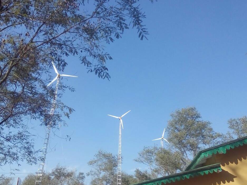 3 units of 5KW Wind Energy Generators for the Forest Department, Haldwani International Zoo & Safari, Haldwani