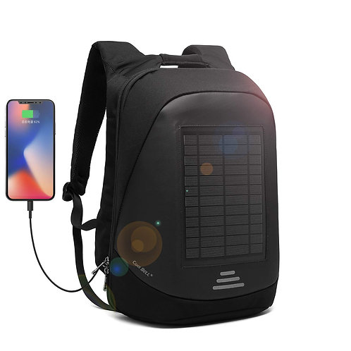 Cool Bell Solar Charger 15.6 Inch Multi-Function Laptop Backpack