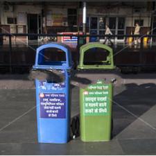 Plastic Outdoor Waste Segregation Bins