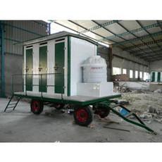 6-Seater Mobile Bio-Toilet