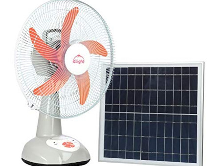 Top 5 Solar Powered Home/Portable Fans on sale NOW
