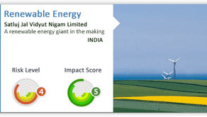 Impact Investment - SJVN Limited