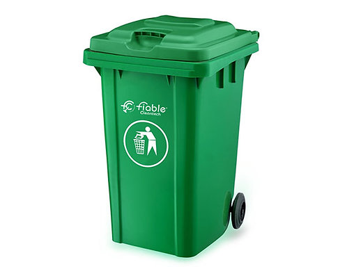 Smart Series Dustbins - Two Wheel with Lid