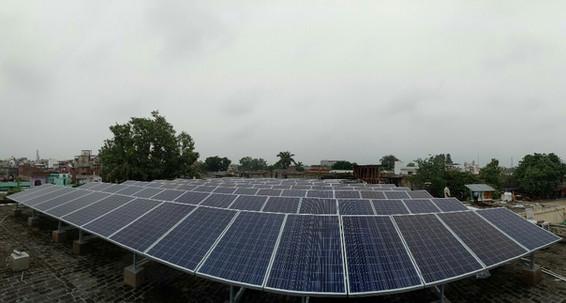 30KW Solar PV Rooftop Offgrid Power Plant, Kashipur Nagar Nigam, Kashipur