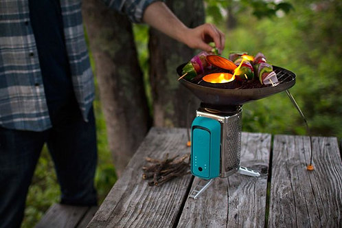 BioLite Cookstove - Wood Burning Small Lightweight Camping Stove