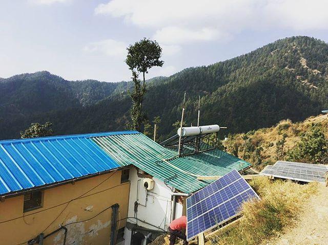 Solar PV Installation, Kufri