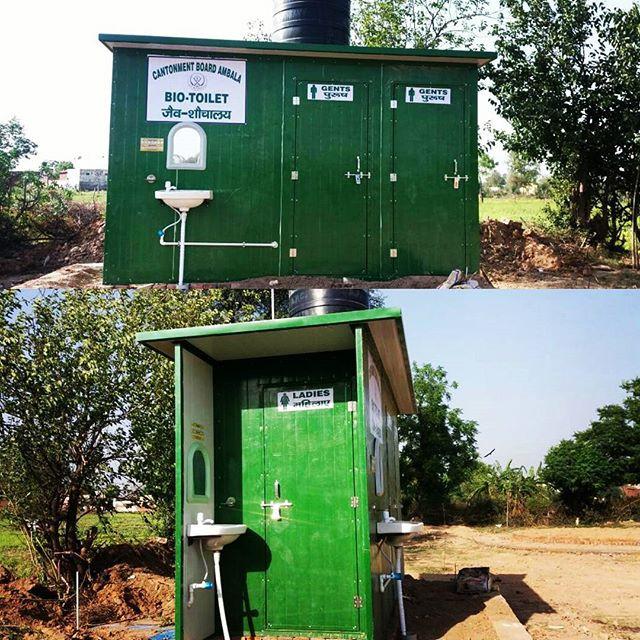 3 Cabin Bio-Toilet, Ambala Cantt