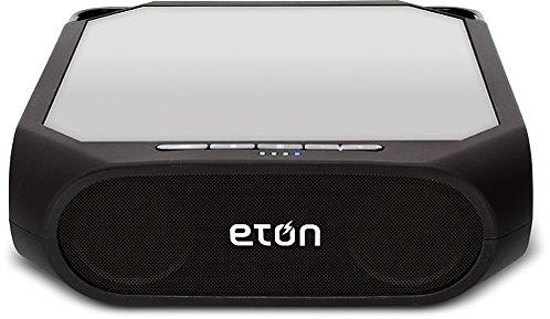 Eton Rugged Rukus Solar-Powered, Bluetooth Speaker
