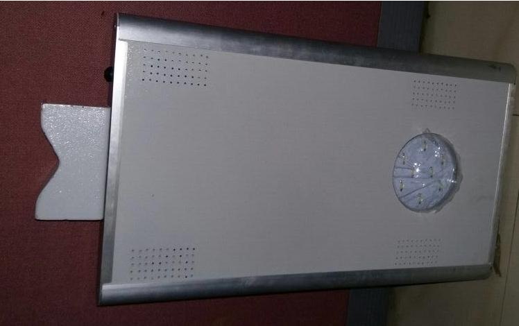 Monocrystalline Integrated Solar Street Light with Aluminium Casing