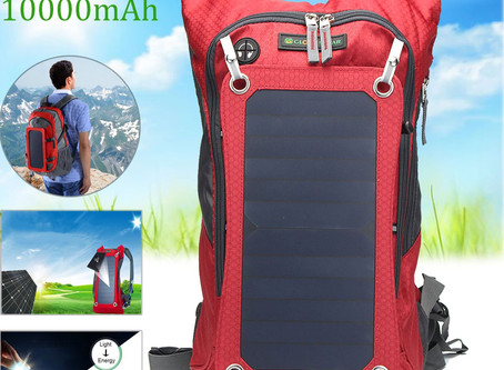 Top 5 Solar Backpacks on sale NOW