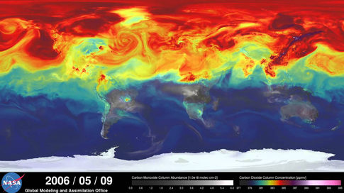 NASA Year in the Life of Earth's CO2