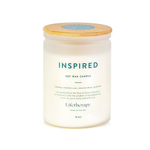 Inspired 75hr Burn Time Soy Candle