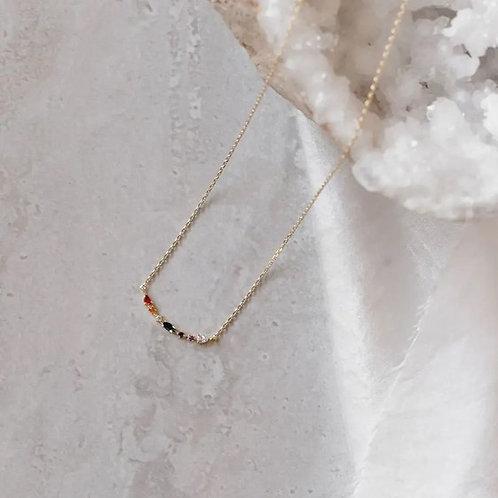 Necklace Gem Cluster