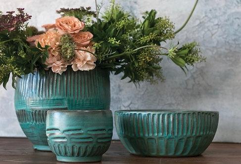 Green Aztec Bowl