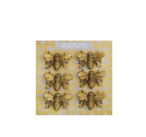 Bee Magnets (Set of 6)