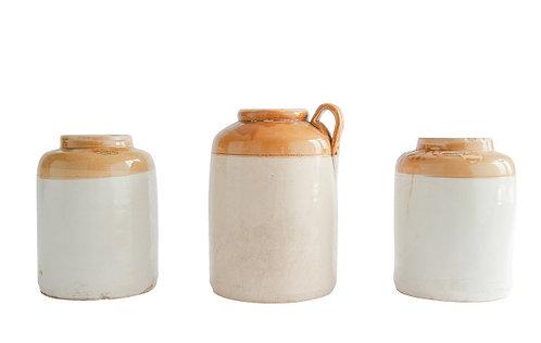 Small Found Decorative Ceramic Crock