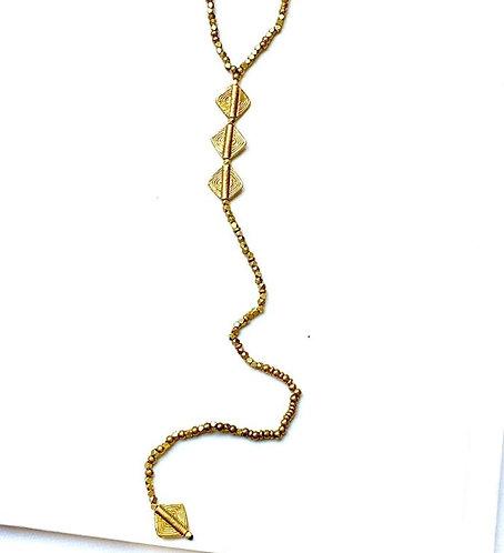 """The """"Y"""" Necklace"""