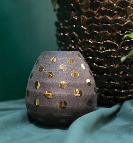 Gold Spotted Vase