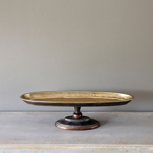 Continental Pedestal Tray, Small