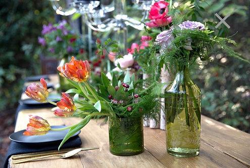 Bottled Green Glass