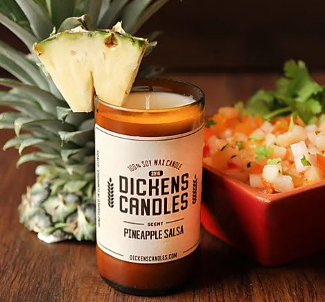 Dickens Candles - Pineapple Salsa