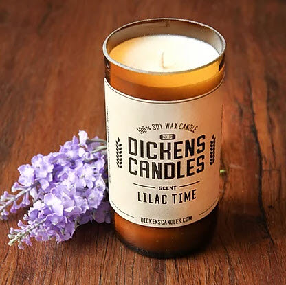 Dickens Candles - Lilac Time