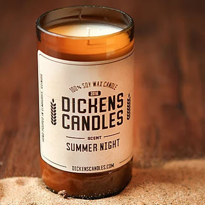 Dickens Candles - Summer Night