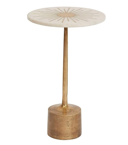 Sun Burst Side Table